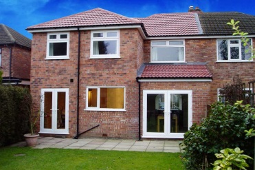 Double Storey extensions design drawings in Sheffield and South Yorkshire
