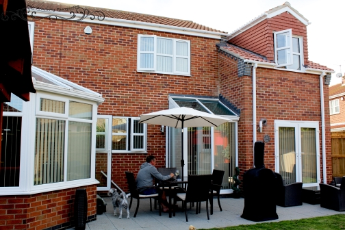 double storey extension design, planning and building regs in South Yorkshire