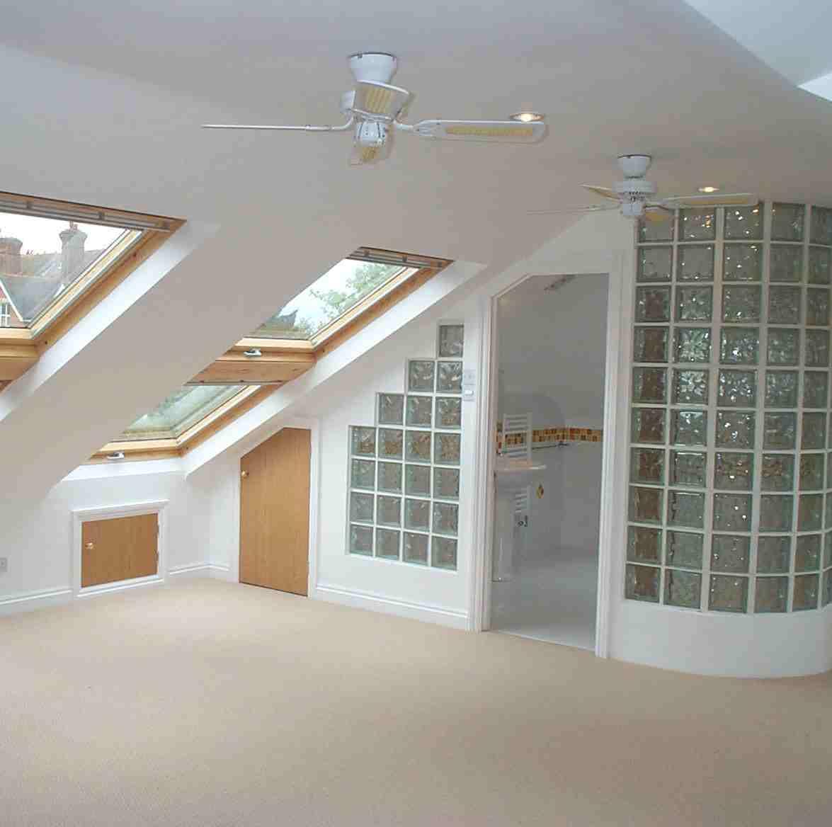 loft conversion with bathroom