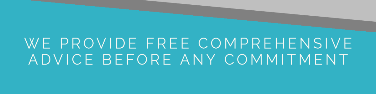 1. We provide free comprehensive advice before any commitment