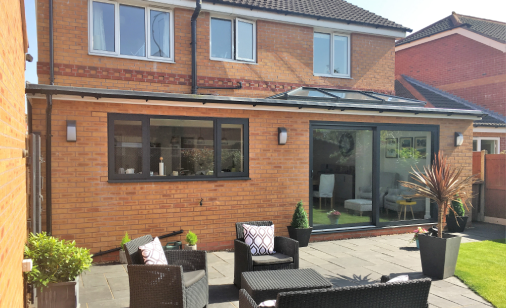 Incredible single storey house extension project